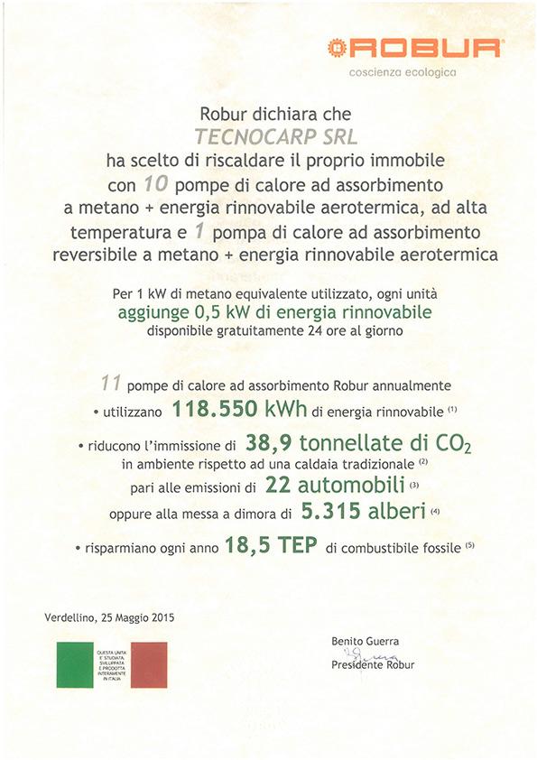 ATTESTATO-ROBUR-RISPARMIO-ENERGETICO